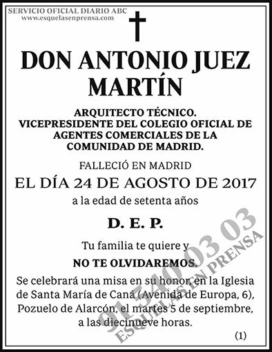 Antonio Juez Martín